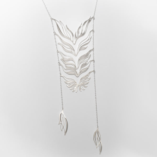 Ascend Necklace - 1 Silver