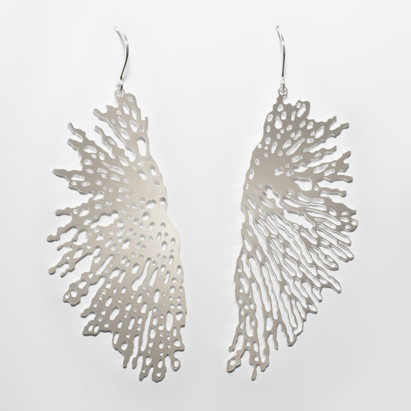 Expand Earrings - 2 Silver