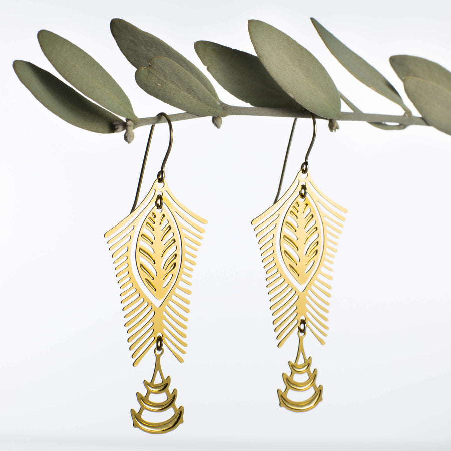 Nilotica Earrings 1 (Mixed-plated)
