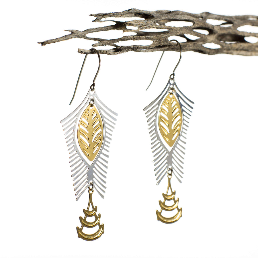 Nilotica Earrings 1 (Gold-plated)
