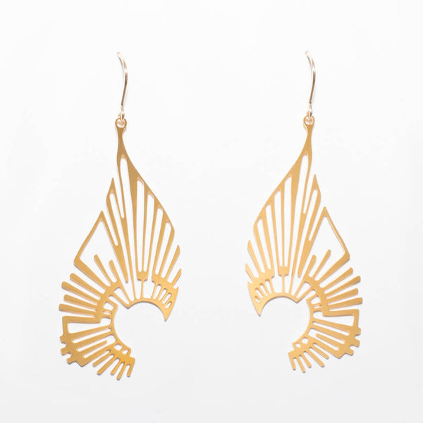 Radiate Earrings - 1 Gold