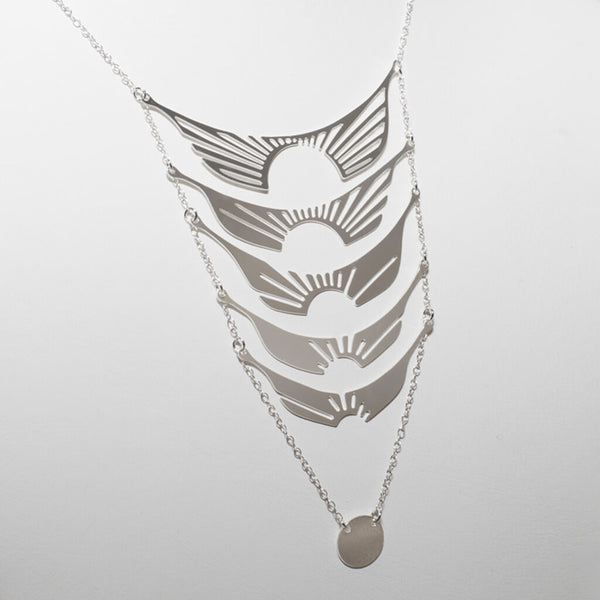 Radiate Necklace - 1 Silver