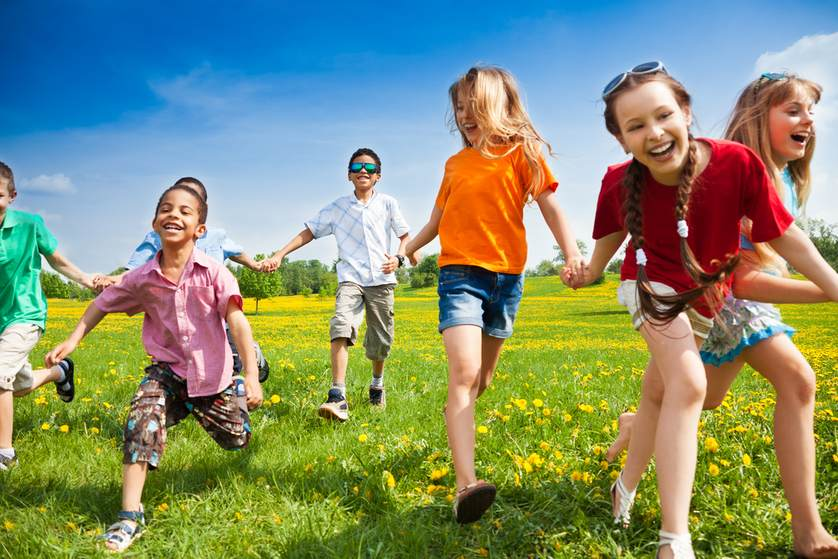 Keeping your children active