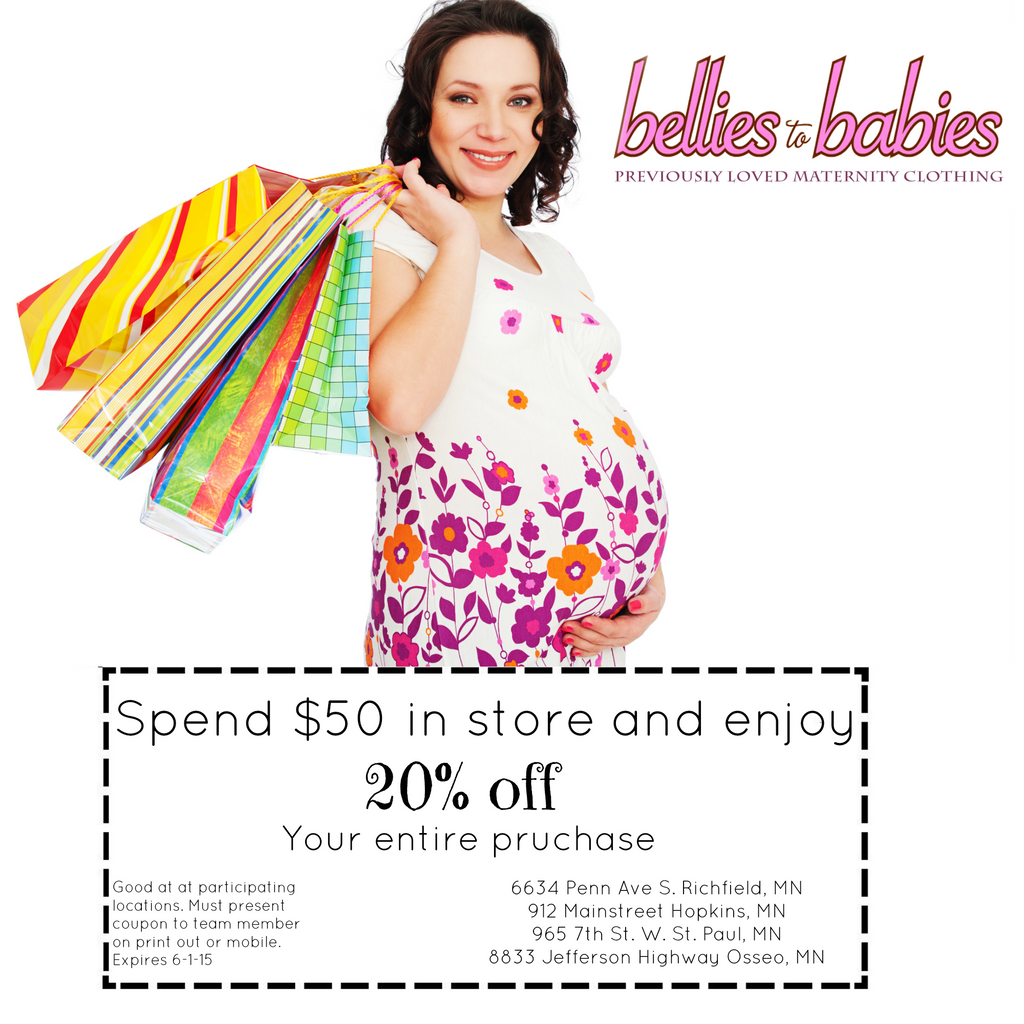 Maternity clothing for less - Bellies to Babies