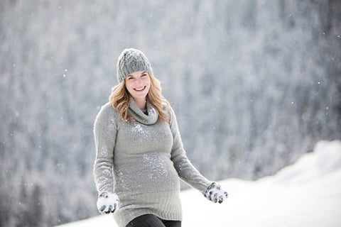 What to wear when expecting in winter