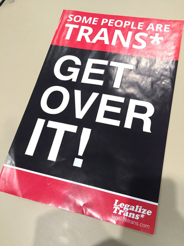 Some People Are Trans* Poster