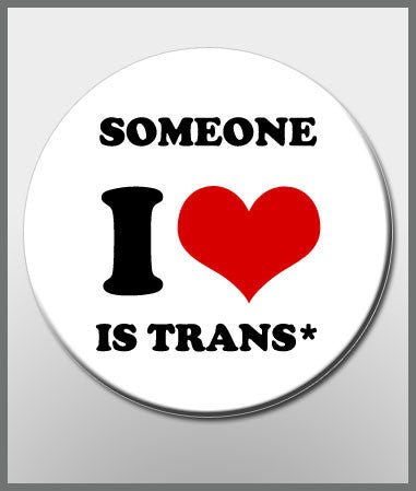 Someone I ♥ button