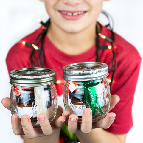 Simple DIY Mason Jar Christmas Gift Ideas