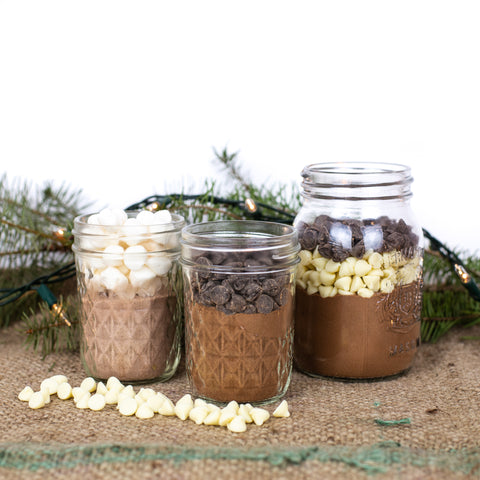 DIY Hot Chocolate Mix in a Jar