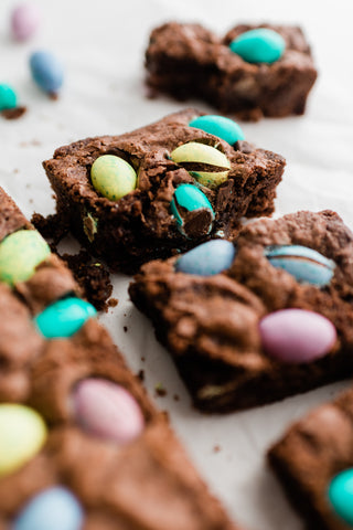 Easter Egg Brownies by Jars by Jodi