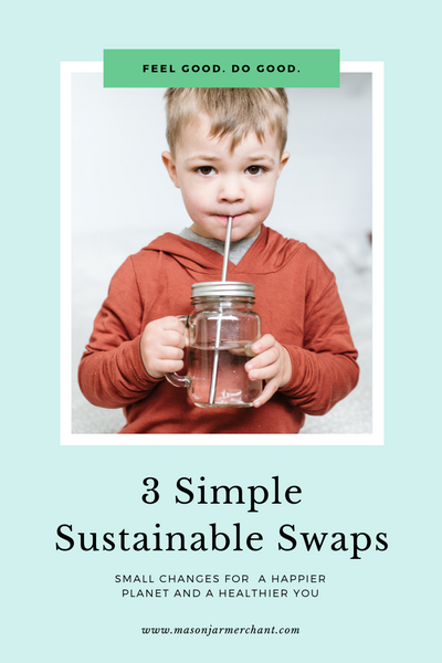 3 Simple Sustainable Swaps for Earth Day - Small Changes for a Healthier Planet and a Happier You