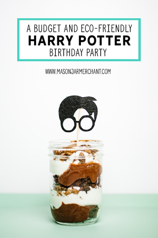 How to throw a budget friendly Harry Potter birthday party AND keep it eco friendly