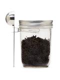'Jarware' - Stainless Steel Mason Jar Coffee Scoop Clip