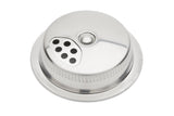 'Jarware' - Stainless Steel Mason Jar Spice / Shaker Lid Set (Regular Mouth)