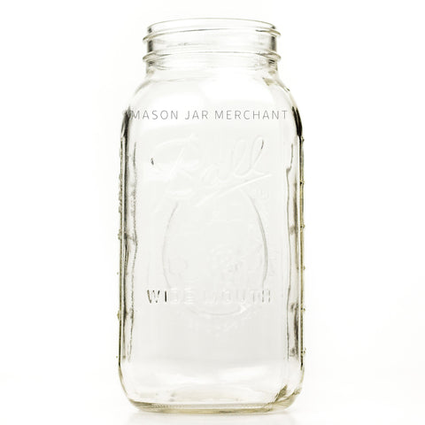 'Wide Mouth' (Square) Half Gallon