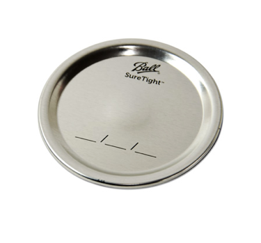 Silver Ball Wide Mouth Canning Lid
