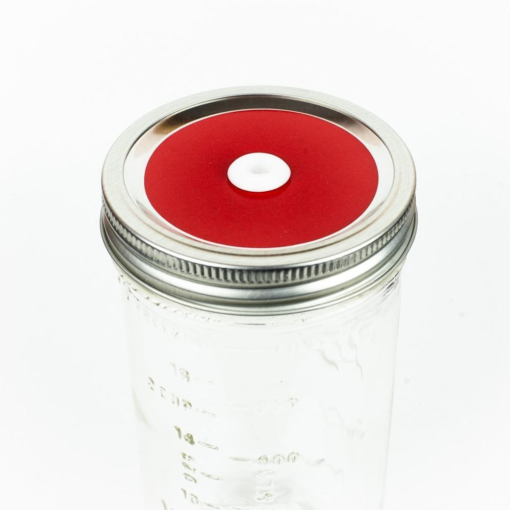 Glitter Mason Jar Straw Lids - Regular Mouth