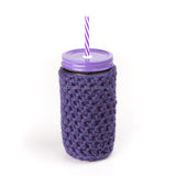 'Grape Crush' Jar Cozy