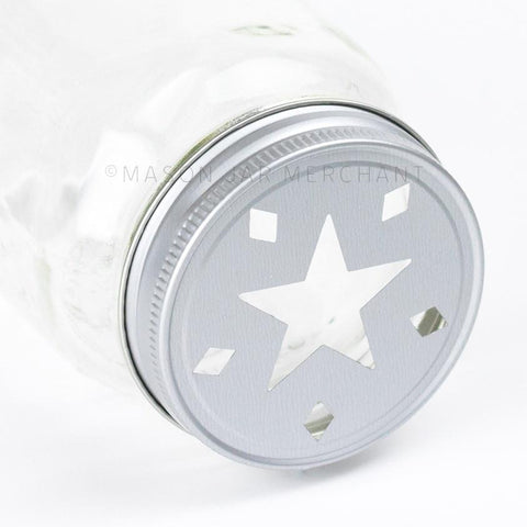'Habanero' Painted Straw Lid