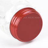 Rustic Red Solid Lid