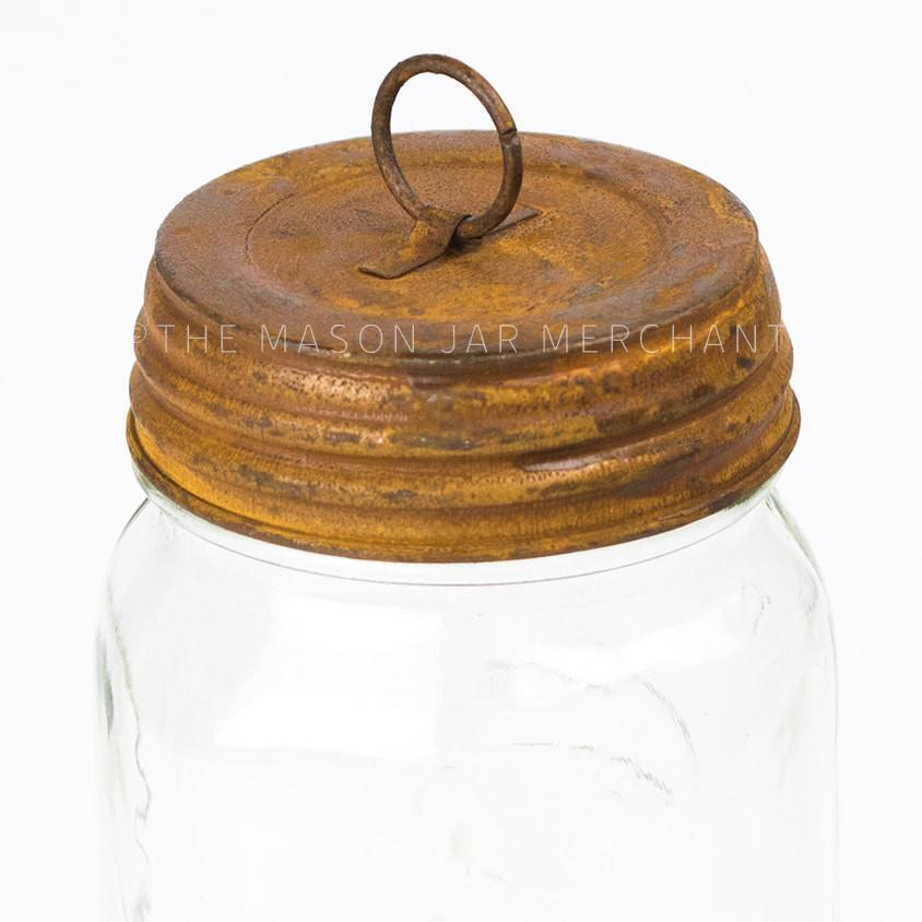 Rusty Hanging Lid