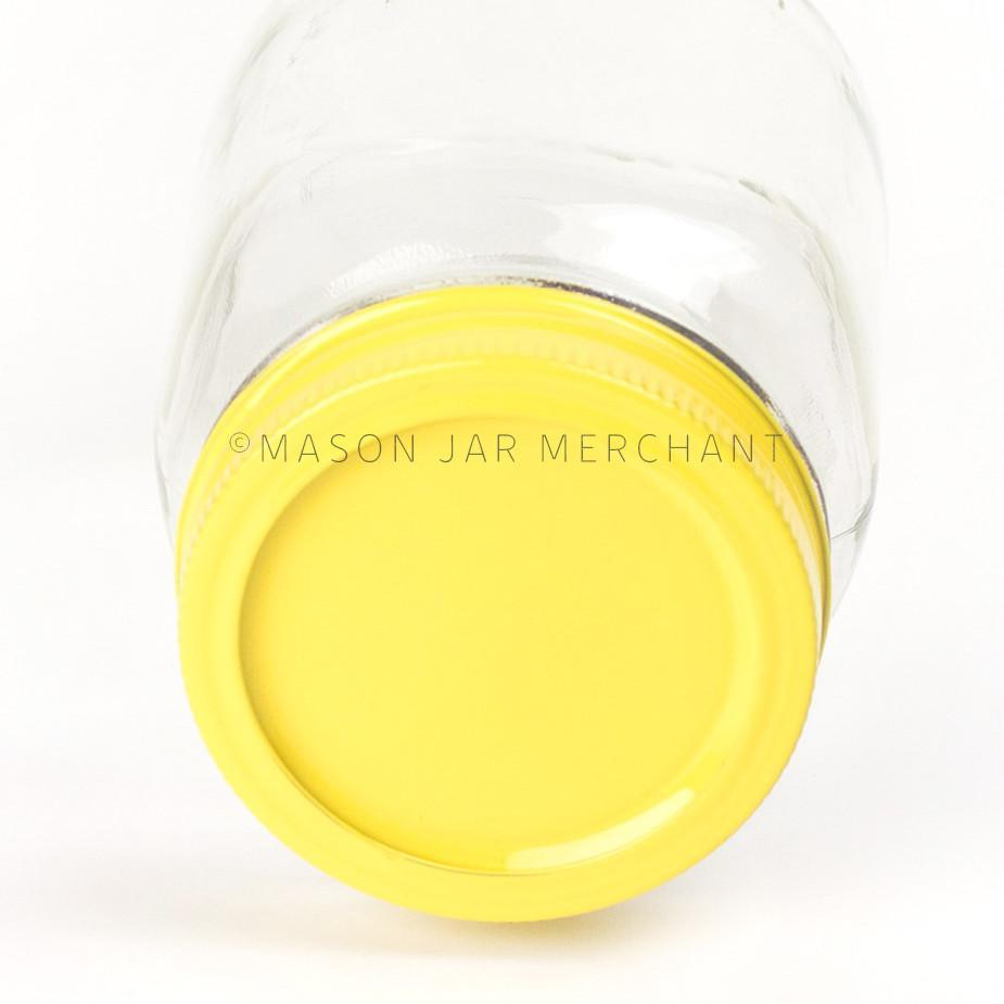 'Yellow Jacket' Painted Lid