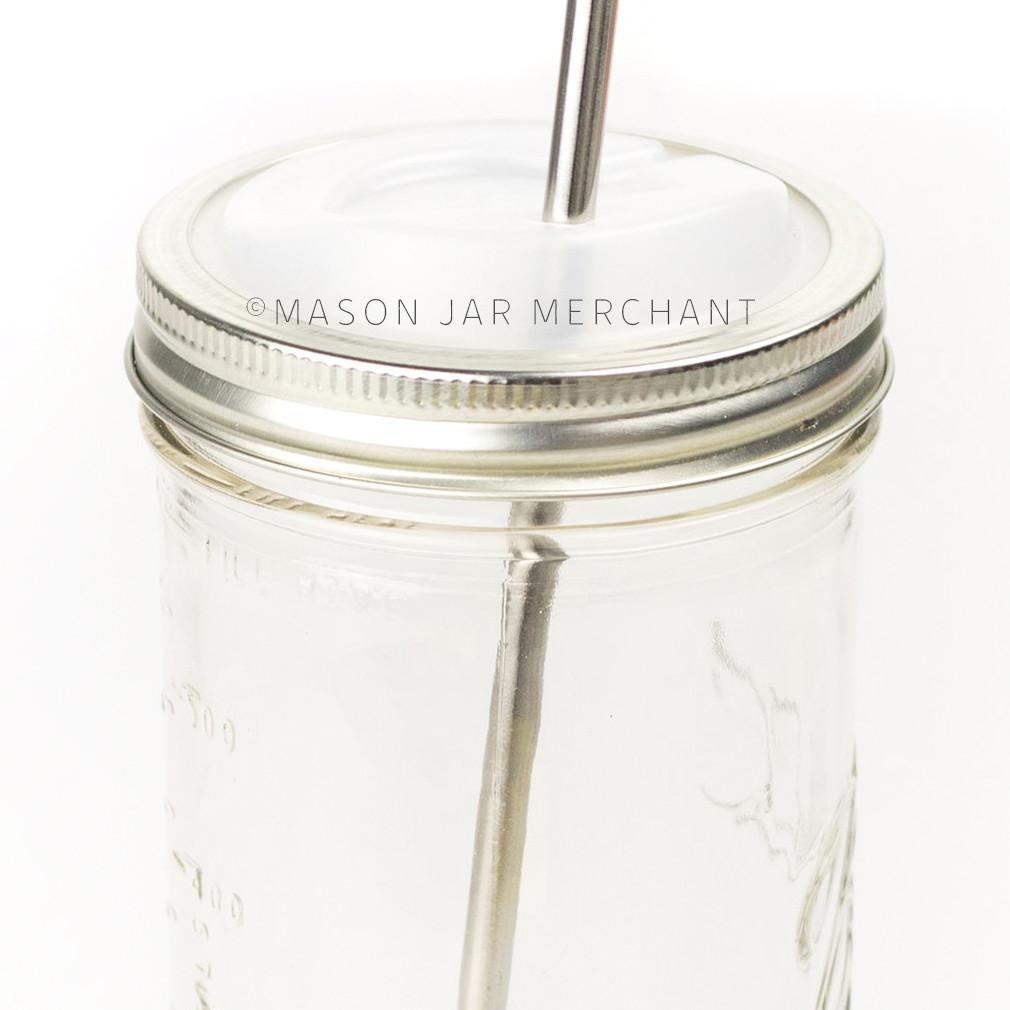 'Cuppow' - Mason Jar Drink Lid (Wide Mouth)