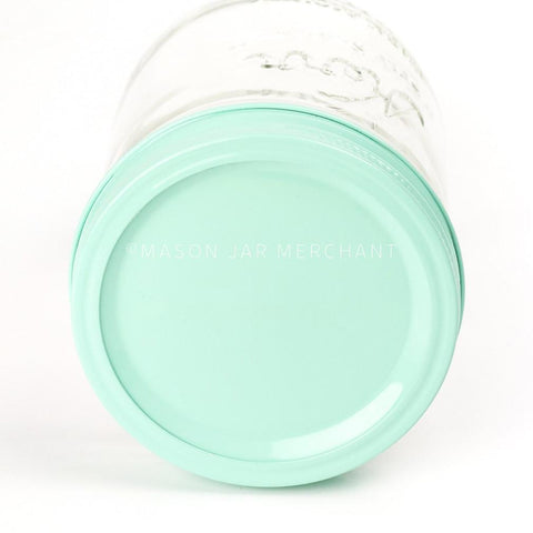 'Coral Reef' Painted Straw Lid