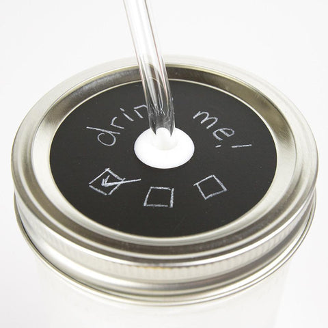 'Noir' Painted Lid