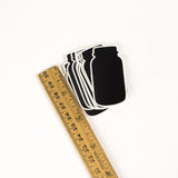 Chalkboard Labels 2 inch Tall Mason Jar