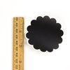 Chalkboard Labels 2.5 inch Scalloped Circle