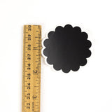 Chalkboard Labels - 2 inch Scalloped Circle