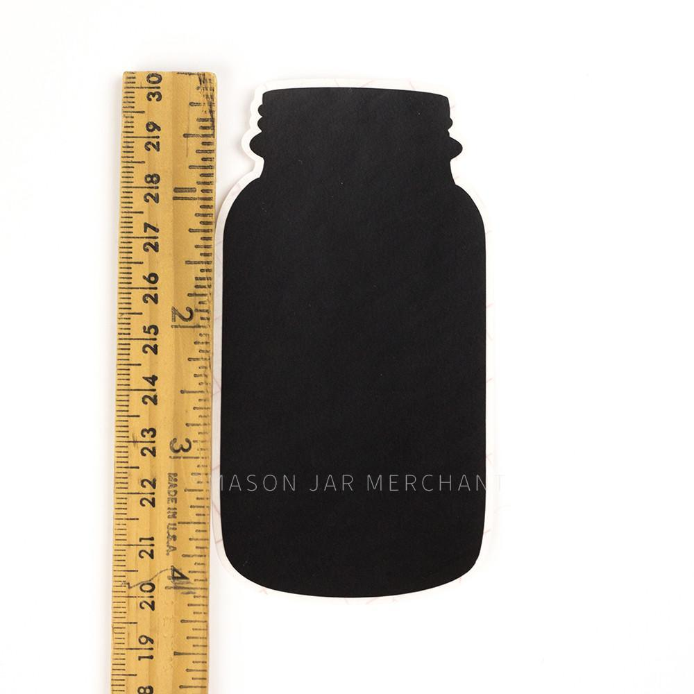 Chalkboard Labels 4 inch Tall Mason Jar