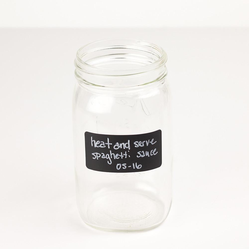 mason jar chalkboard labels 3 inch x 1 5 inch rounded corners