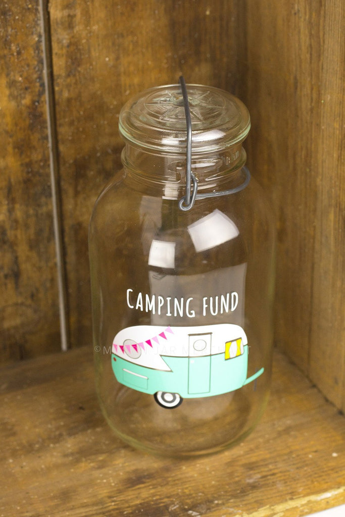 'Camping Fund' Savings Jar