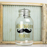 'Honeymoon Stache' Savings Jar