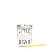 'Little Bear' Drinking Jar {Charcoal}