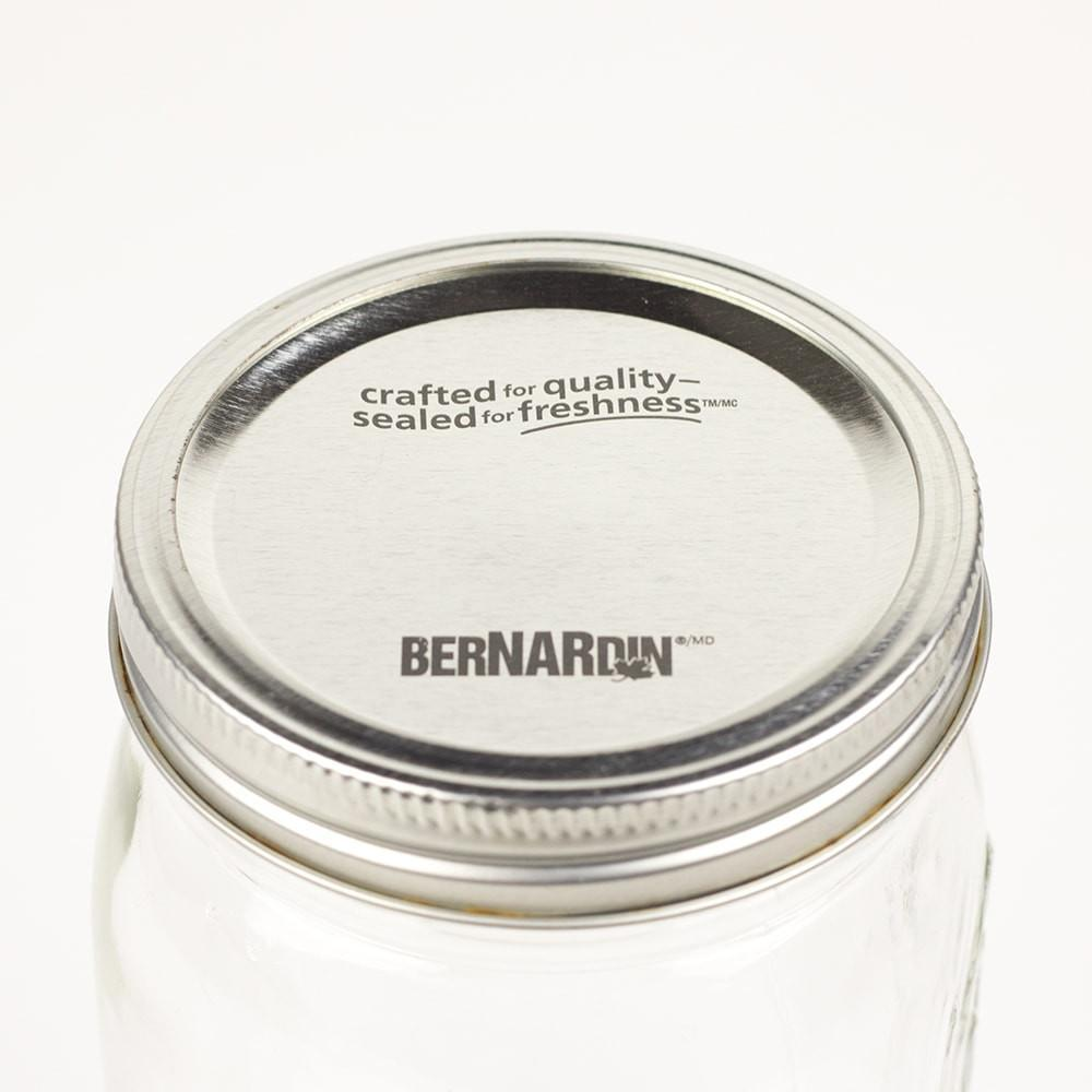 Silver Bernardin Wide Mouth Canning Lid