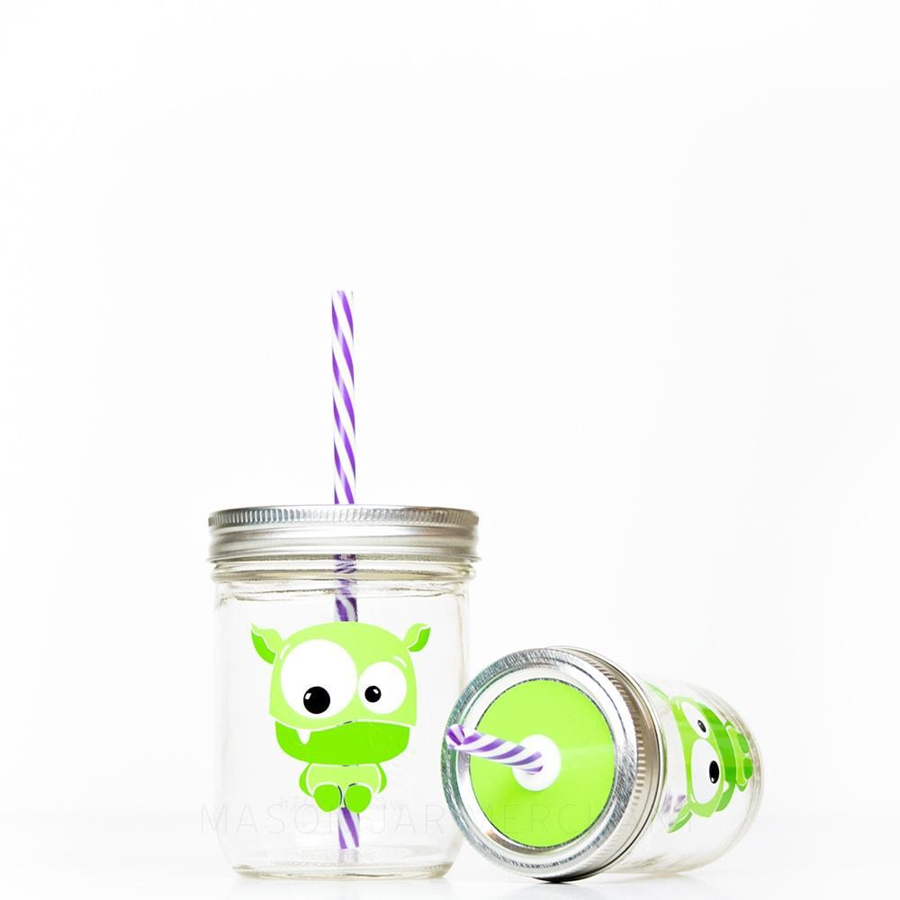 kids reusable water bottle with reusable straw