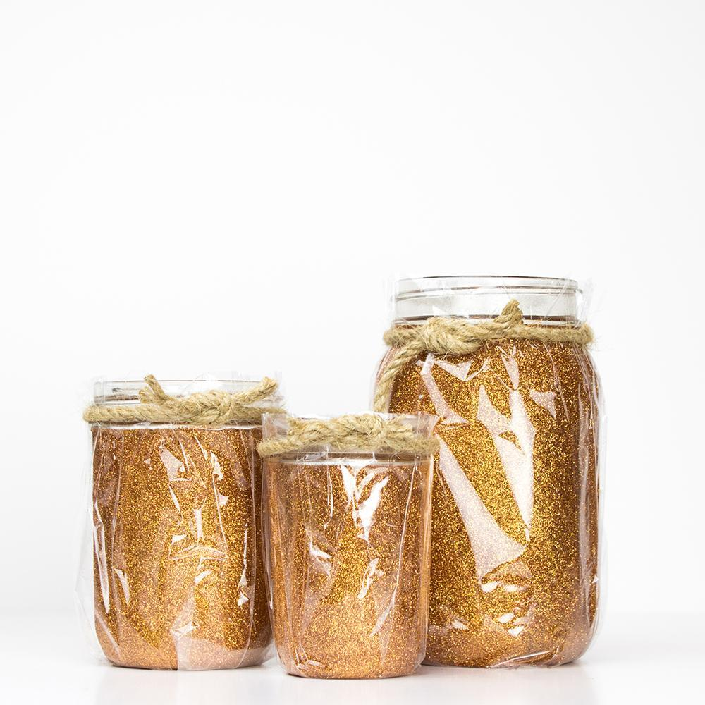 Fall Glitter Jars - Small