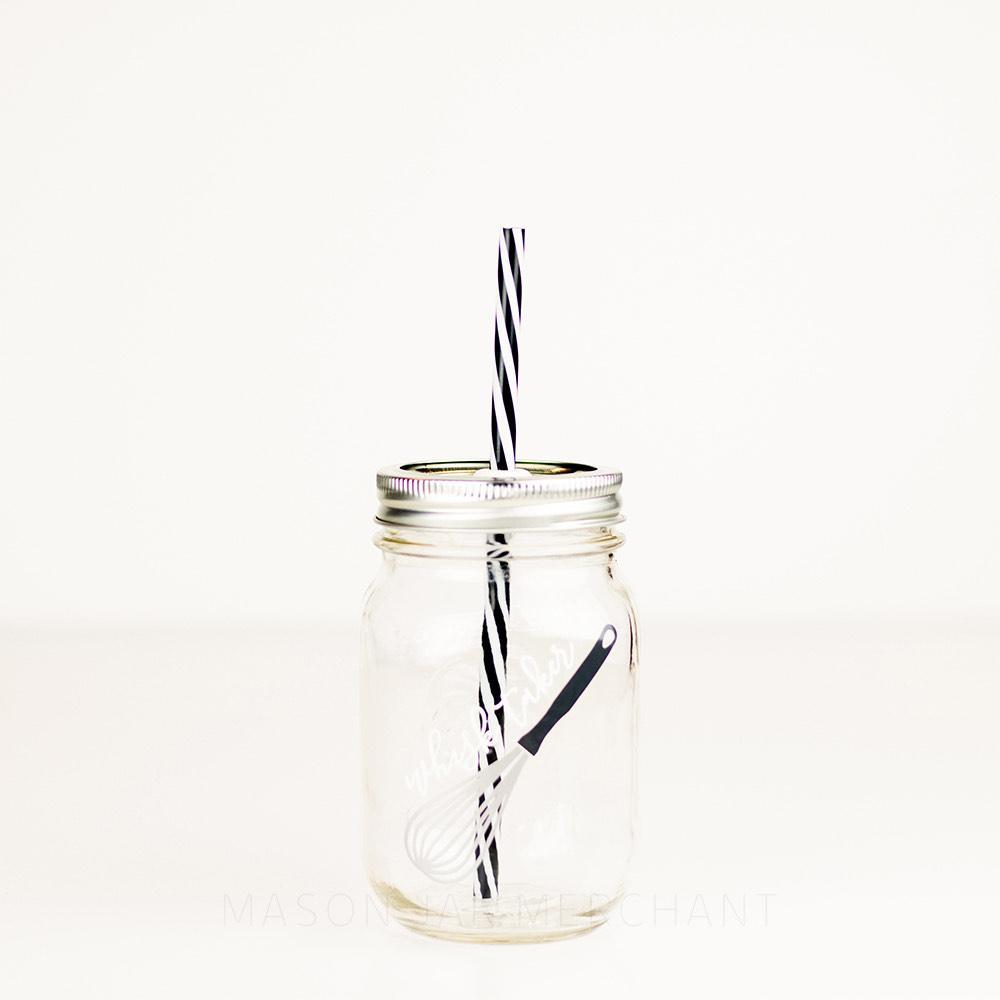 'Whisk Taker' Mason Jar Tumbler