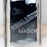 Close-up of a Bernardin Mason jar logo