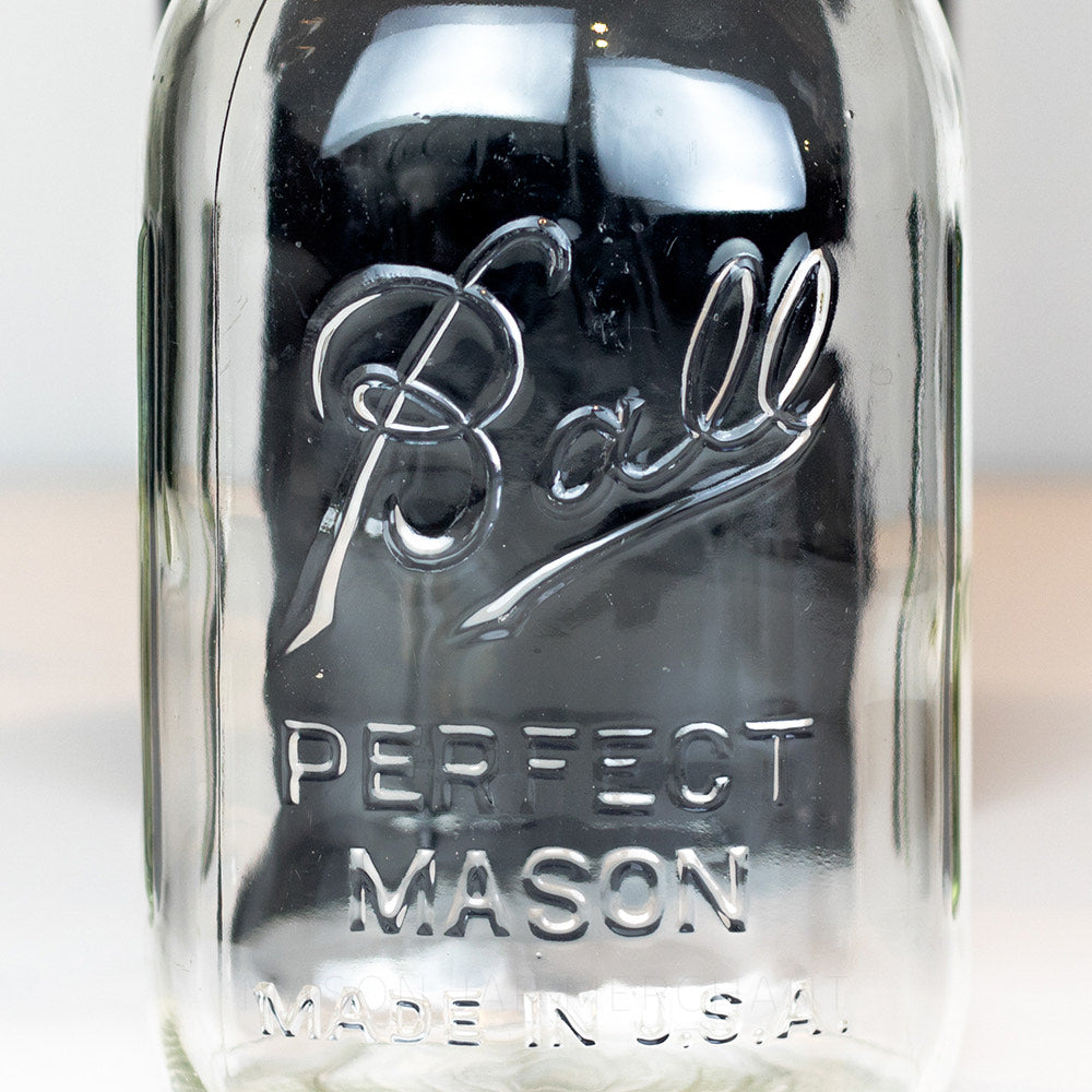 "Vintage (1933-1960) Ball ""Perfect Mason"" Made in the U.S.A. (6 Ribs)"