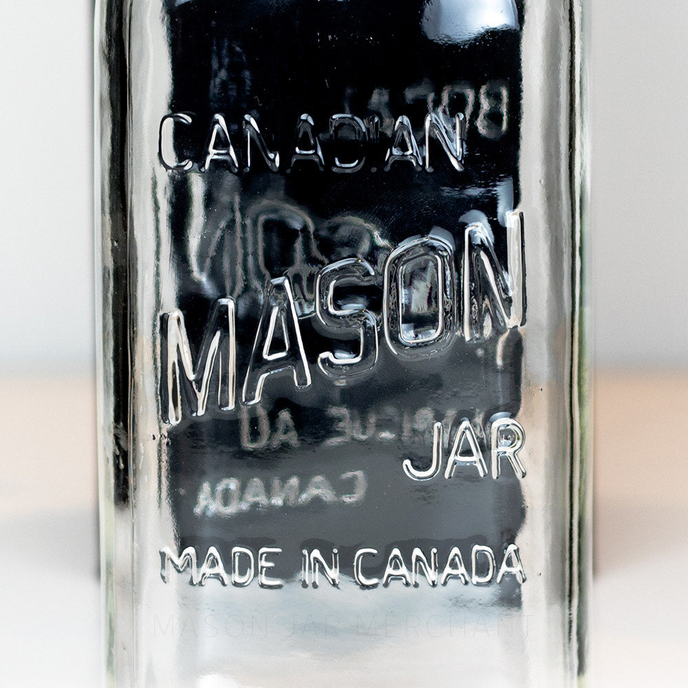 7.5 inch 'Canadian - Made in Canada' (Square) Quart