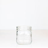 Wide mouth pint mason jar with Best wide mouth logo, against a white background