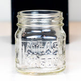 Atlas Mason Close up of Atlas Half Pint Jar - fits any regular mouth lid