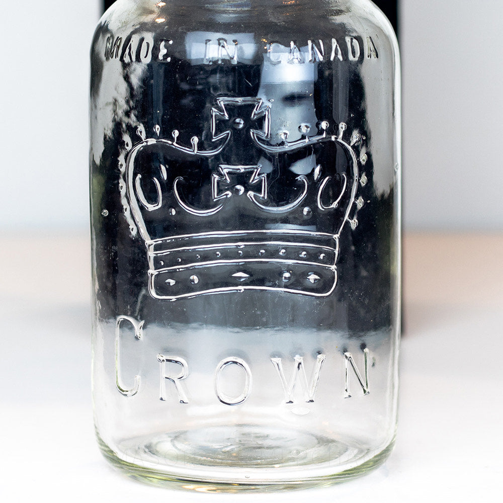 Made in Canada Crown Gem Mouth Quart