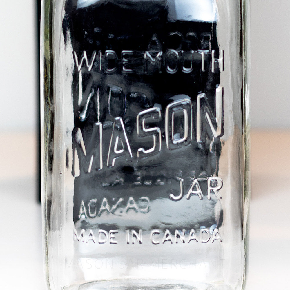 'Wide Mouth - Made in Canada' (Square) Quart