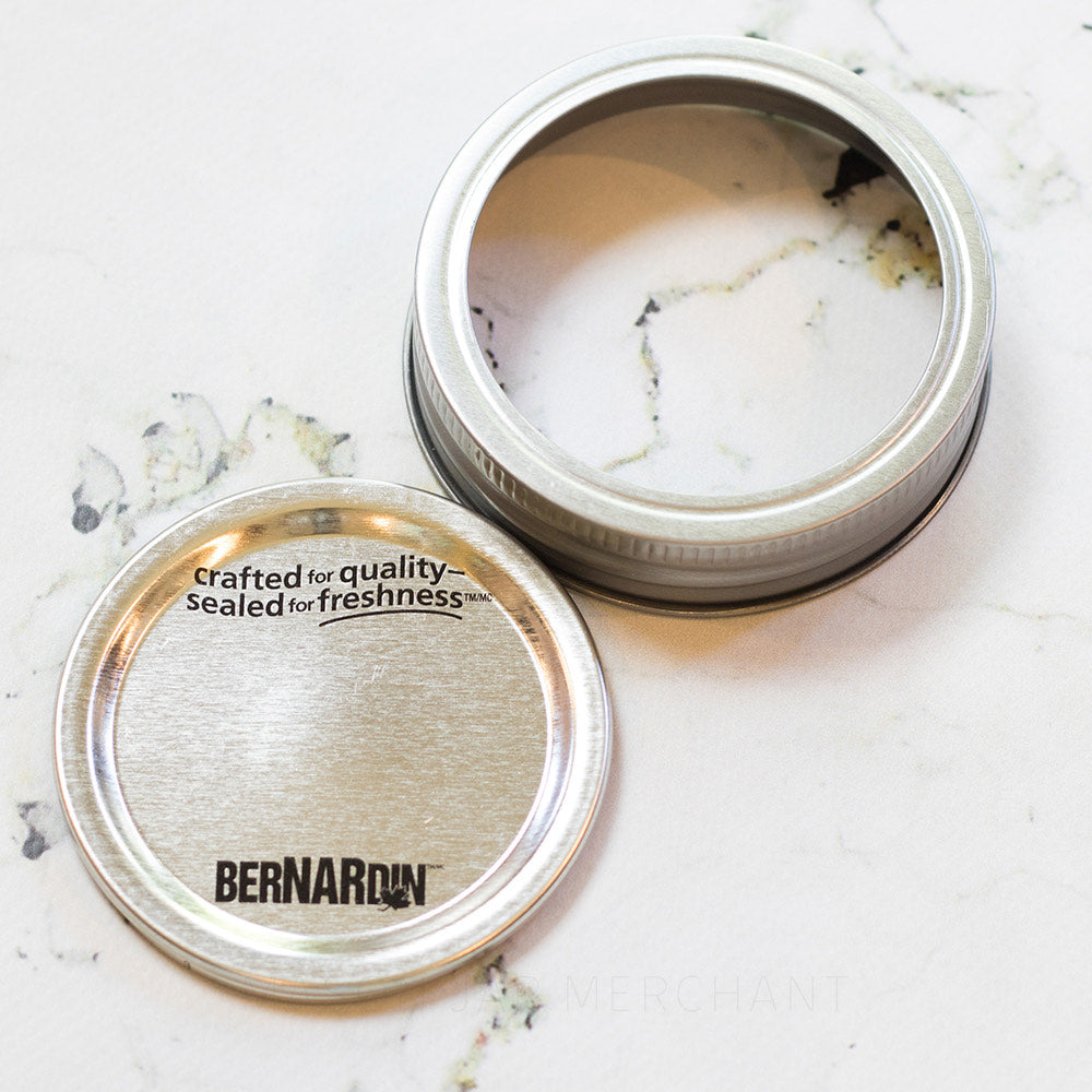 Silver Bernardin GEM Mouth Canning Lid