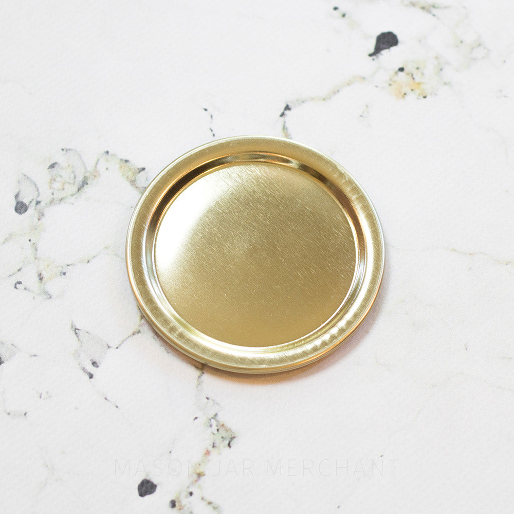 Plain Gold GEM Mouth Canning Lid